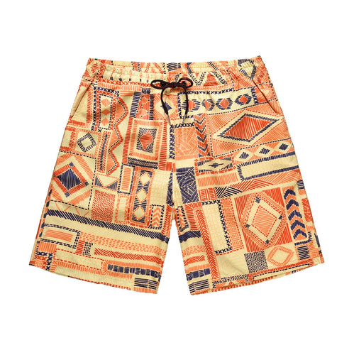 Men short  Sports Pants Casual Graffiti Printed