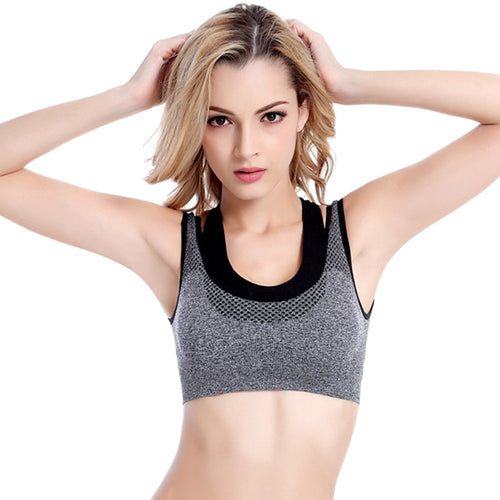 Women's High-Strength Sports Yoga Running Bra