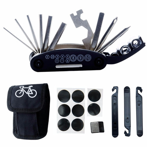 1 Set Outdoor Bicycle Bike Tire Tyre Repair Tools Cycling Rubber