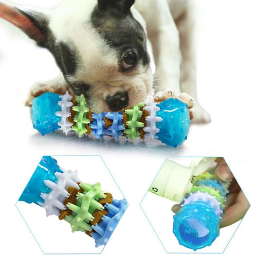 Pet Toy Strong Bite-Resistant Dog Bone Rubber