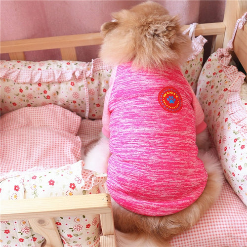 Warm Dog Sweater Cotton Fleece Small Dog Shirt Chihuahua Puppy Winter