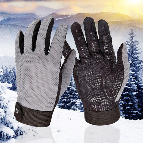Sport Bikes Rider Protective Gloves Sliding Screen Winter Warm Cycling