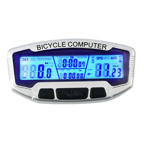 LCD Backlight Bicycle Computer Odometer Bike Speedometer