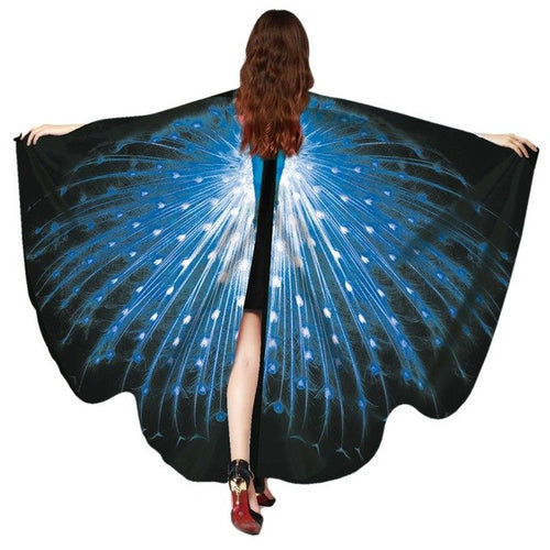 Butterfly Tapestry Colour Yoga Mat Irregular