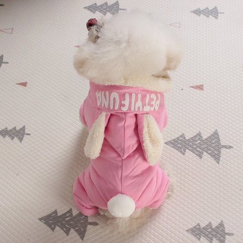 Winter Clothes Puppy Dog Cat Rabbit Coat Apparel