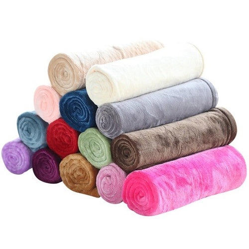 Pet Winter Comfortable Soft Bed Mats Dogs Fluffy Flannel Blanket,