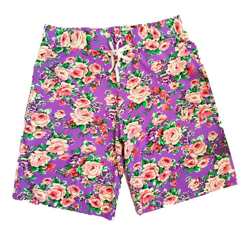 Summer Beach Fashion Shorts Men Casual Cotton