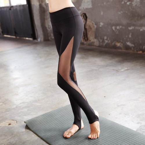 yoga pants Sexy women's sweatpants black  roupas esportivas