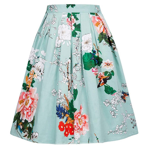 Women Retro Skirts Vintage Rockabilly