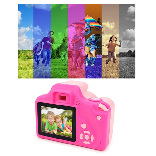 Digital Video Camera For Kids Full HD 1080P Portable Mini DV 2 Inch LCD Screen Display