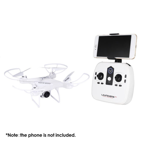 Drone with WiFi Camera 0.3 MP Real-time Transmit