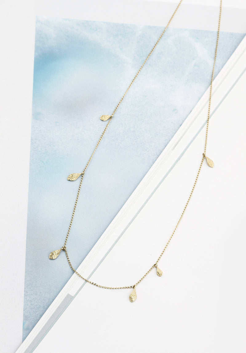 ELAINE | Dancing Leaves Necklace