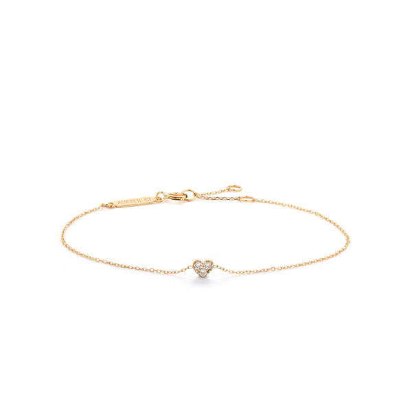 SOPHIE | Diamond Heart Bracelet