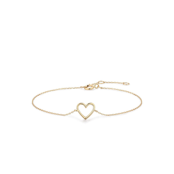 JANE | Open Heart Bracelet