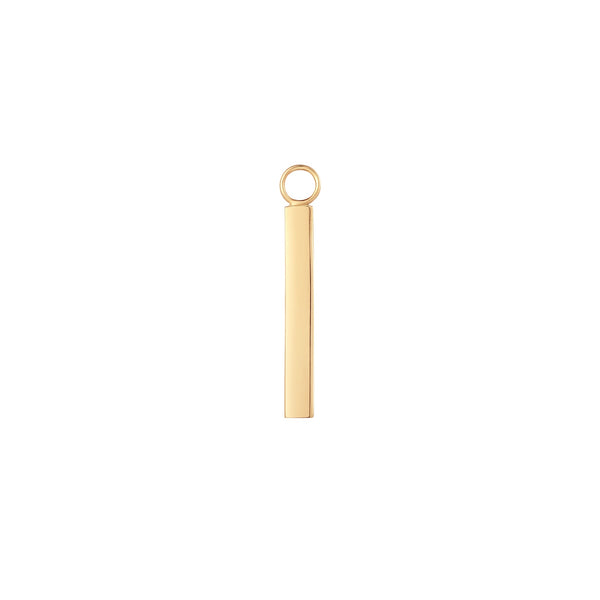 JOURNEY | Engravable Bar Earring Charm