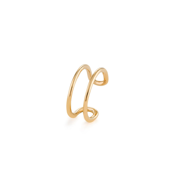KELLY |Single Twist Ear Cuff