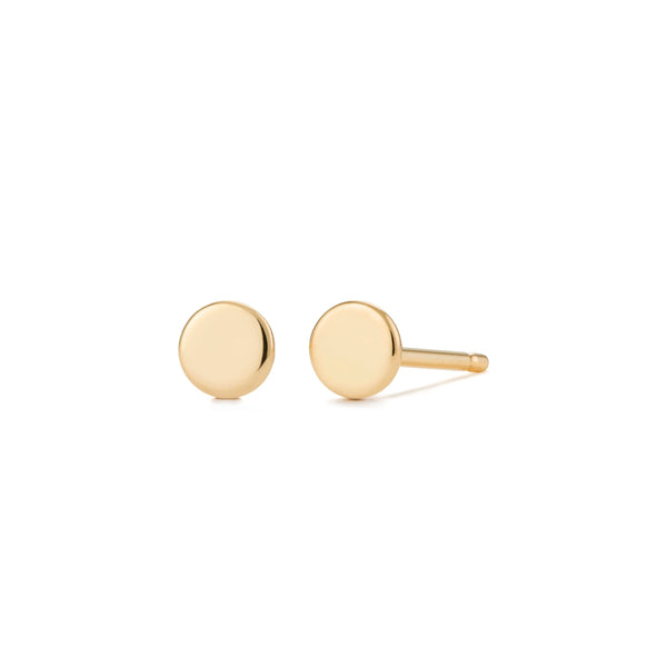 DOT |  Disc Stud Earrings