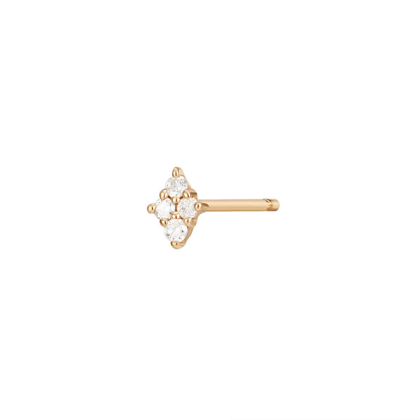 AMY | Single Diamond Stud