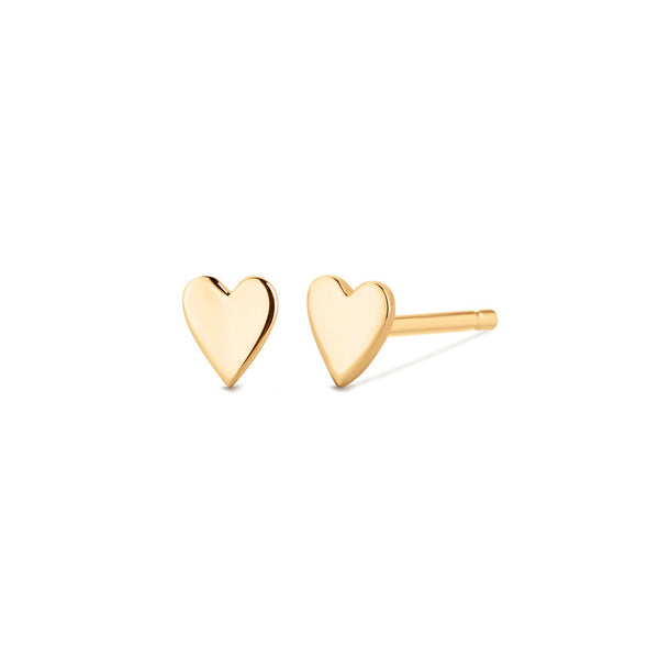 MINNIE | Heart Studs