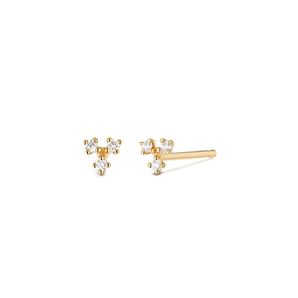CLOVER | Diamond Studs