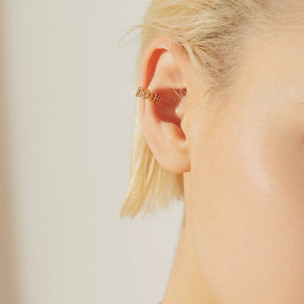 ELEANOR | Single Paper Clip Ear Cuff