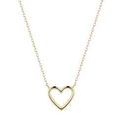 JANE | Open Heart Necklace