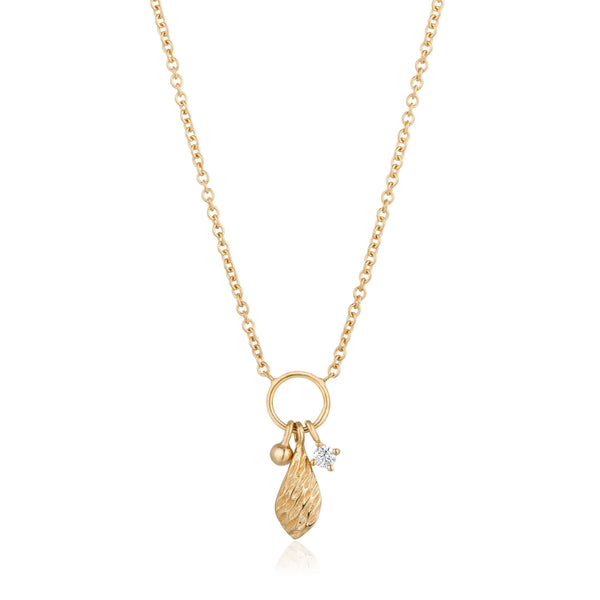 ALMA |  Diamond Charm Necklace