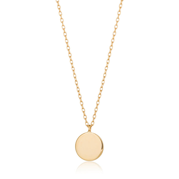 DOT | Shiny Disc Necklace