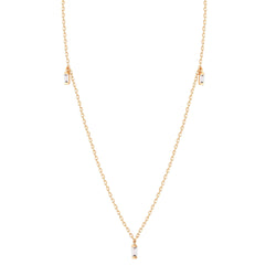 DEMI | Topaz Triple Necklace