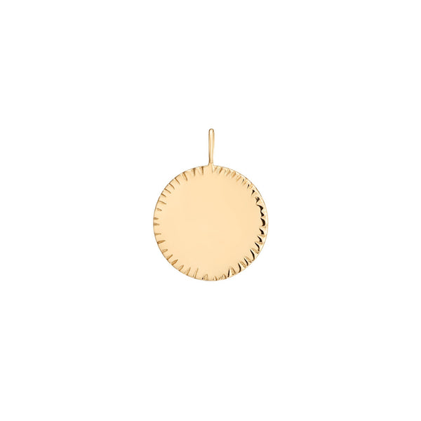 FAITH | ENGRAVABLE ROUND DISK CHARM