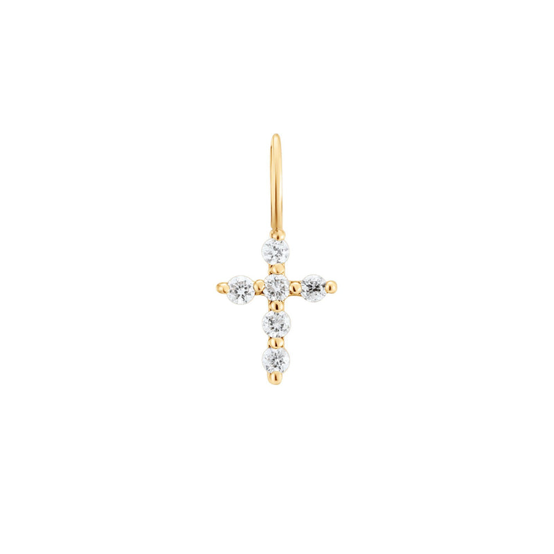 GRACE | DIAMOND CROSS CHARM