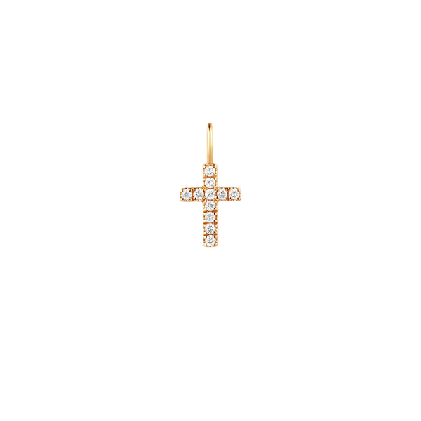 ESTHER | Diamond Cross Pendant