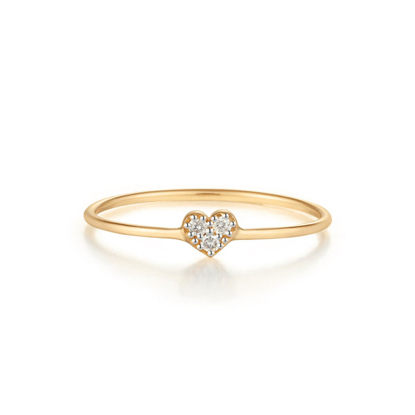 SOPHIE | Diamond Heart Ring