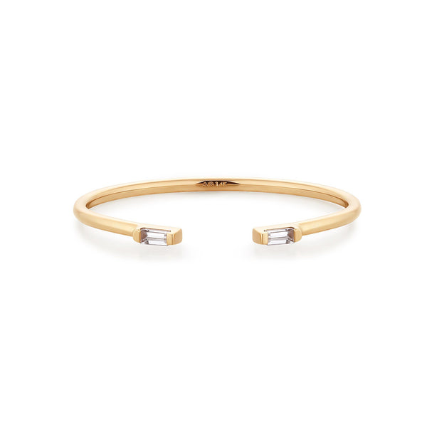 CARA | Topaz Open Ring
