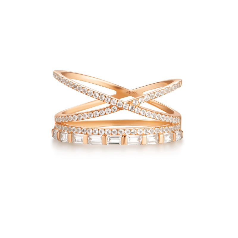 ALISA | Topaz Triple Ring