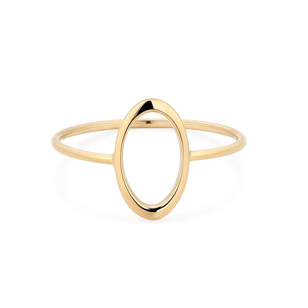 IRENE | Open Oval Ring