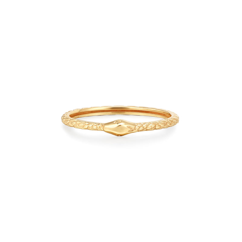 MEDUSA | Snake Stackable Ring
