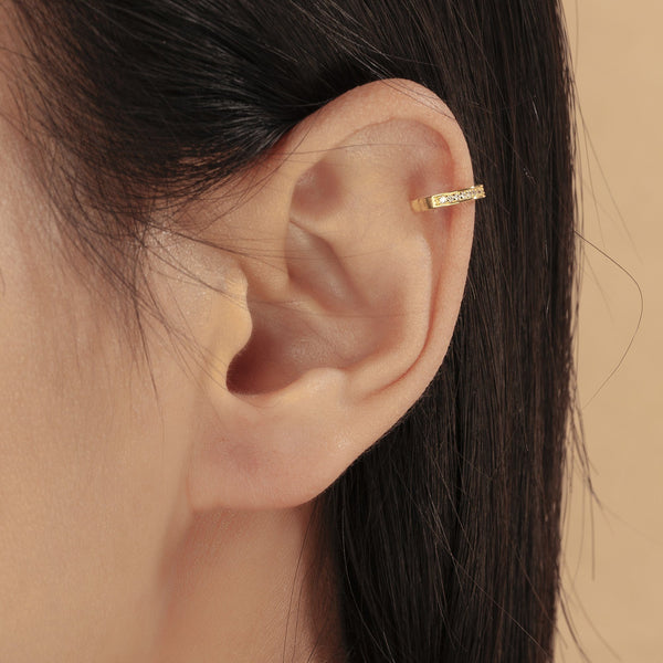 RITZY | Diamond Ear Cuff