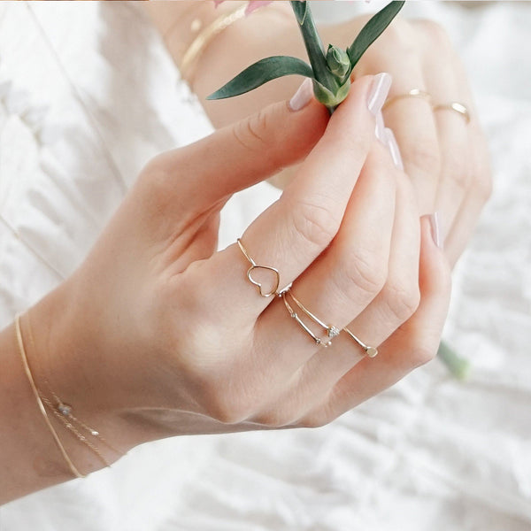 JANE | Open Heart Ring