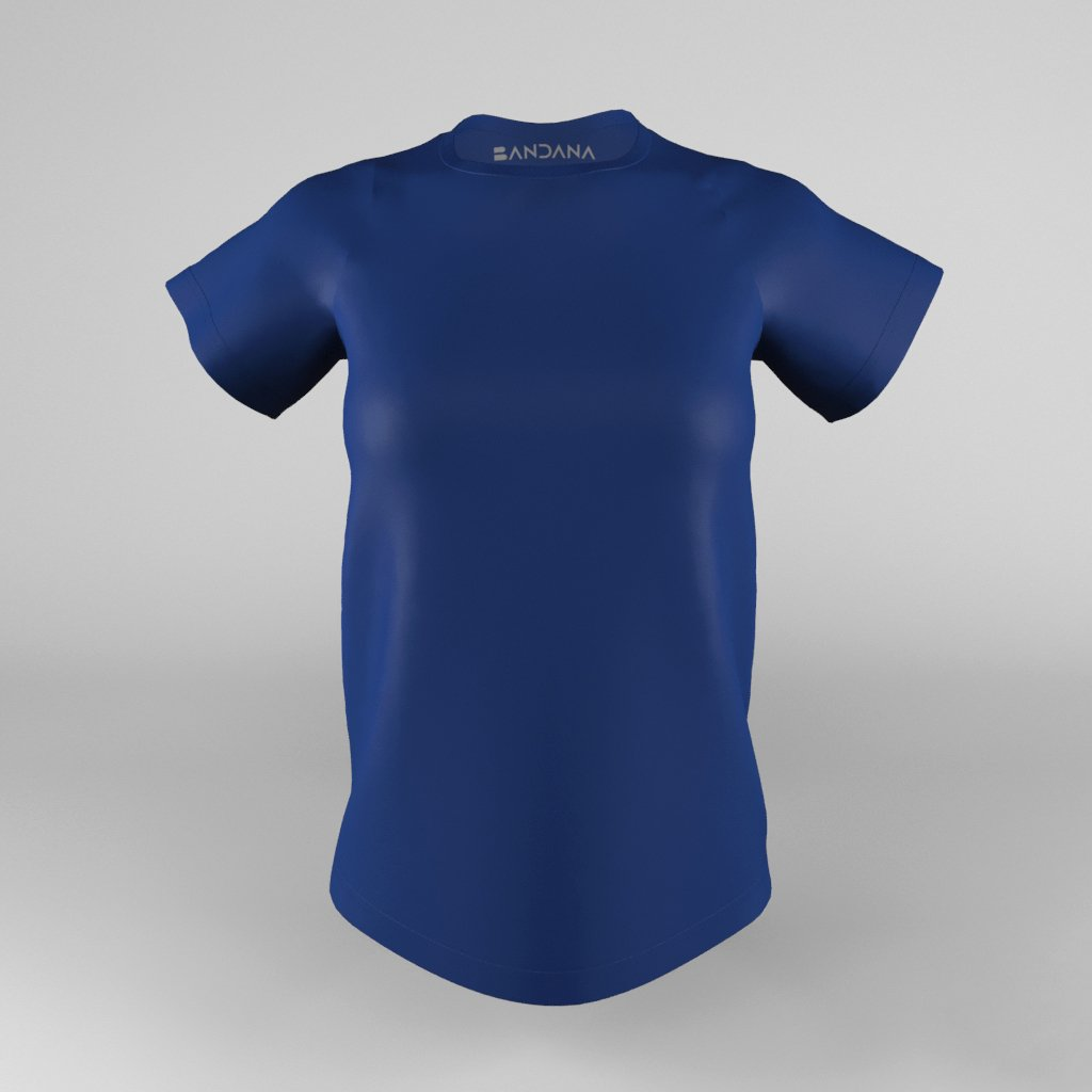 B-Fit Women Training Tee (Interlock) - Bandanapk