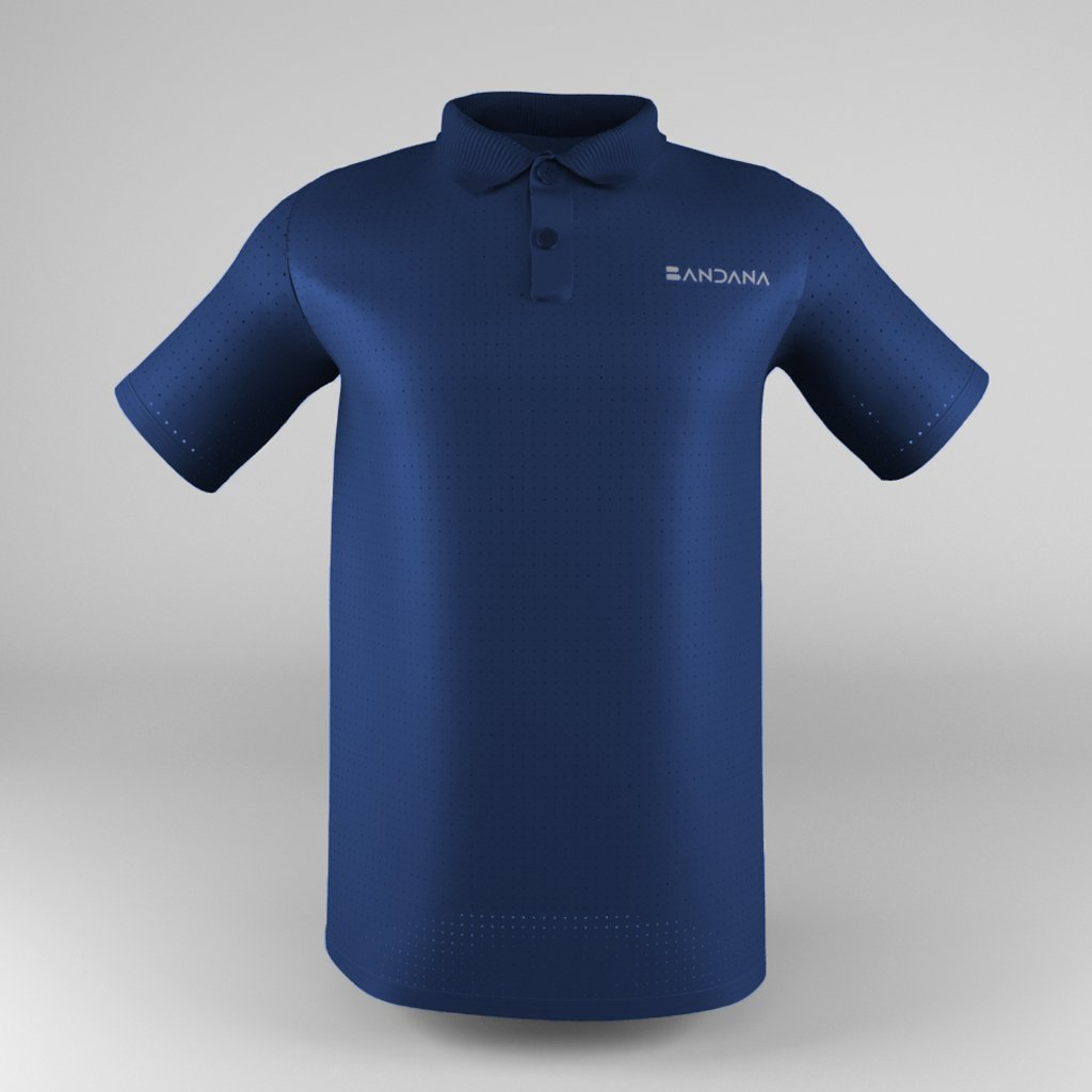 B-Fit Men Polo (Mesh) - Bandanapk