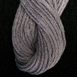 Valdani 6 Strand Embroidery Floss: 120 - Medium Gray - Hattie & Della