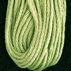 Valdani 6 Strand Embroidery Floss: 1262 - Luminous Lime - Hattie & Della