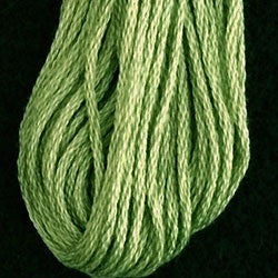 Valdani 6 Strand Embroidery Floss: 19 - Deep Lime - Hattie & Della