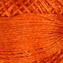 Valdani 3 Strand-Floss: 204 - Bright Orange Coral - Hattie & Della