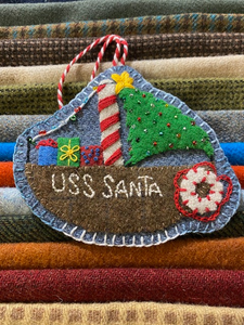 Christmas by the Sea: All 6 Wool Kits + Printed Patterns