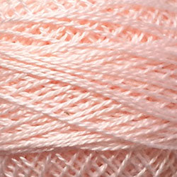 Valdani Perlé Cotton Solid: 44 - Light Rose - Hattie & Della