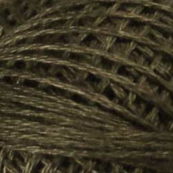 Valdani 3 Strand-Floss: 8121 - Brown Black - Light - Hattie & Della