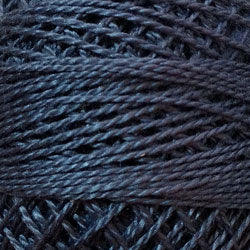 Valdani Perlé Cotton Solid: 871 - Dusty Blue - Light - Hattie & Della