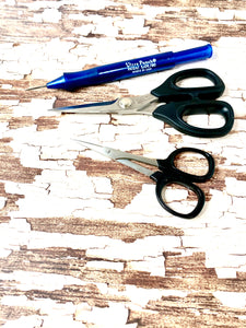 Gift Bundle 23:  Ultra Punch Needle + 5 1/2in Scissors + 4 in Scissors